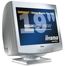 kliknij to zobaczysz monitor z płaskim kineskopem: iiyama 19cali MM904UT - Vision Master Pro 455