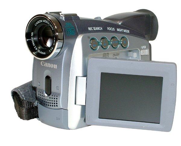 kliknij to zobaczysz kamerę cyfrową CANON MV690 Z1