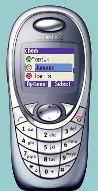 kliknij to zobaczysz telefon komórkowy SIEMENS